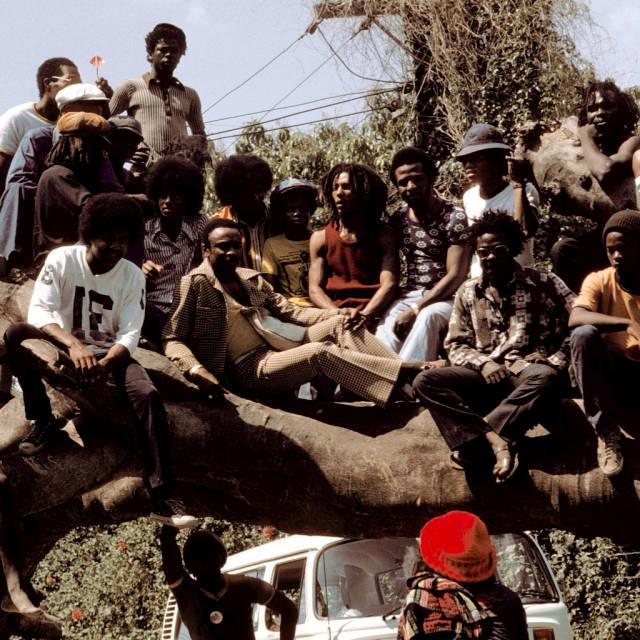 Michael with Bob Marley!!!