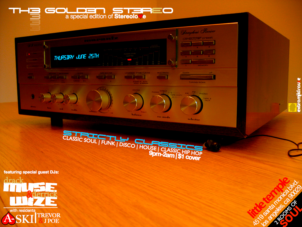 The Golden Stereo.002