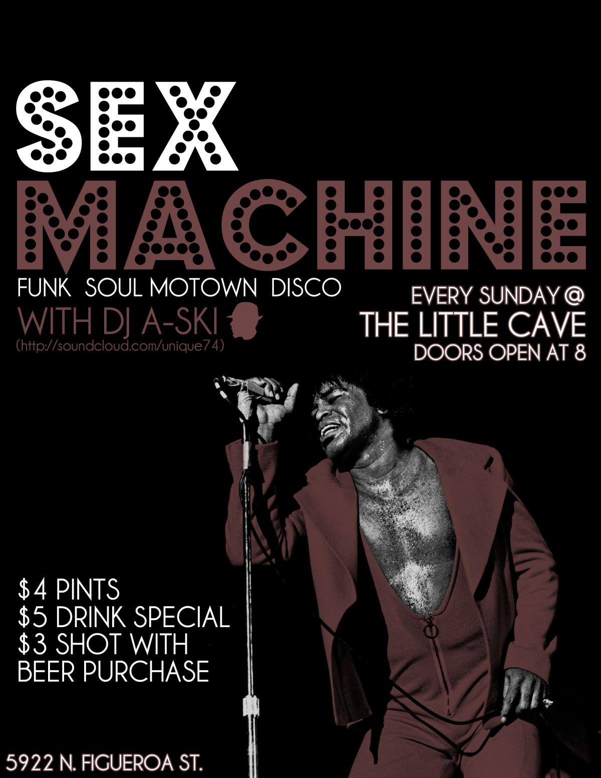 SEX MACHINE SUNDAYS | A-SKI #Unique74