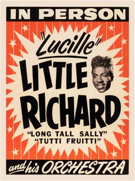 little-richard-in-person-poster