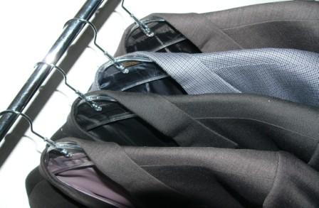 suits-on-rack